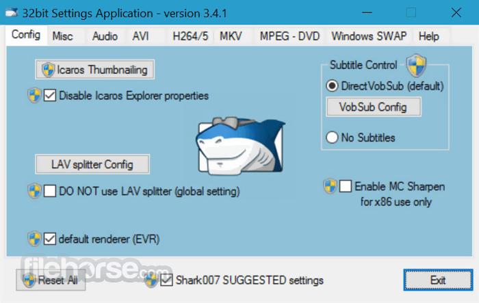 STANDARD Codecs 6.7.0 Screenshot 1