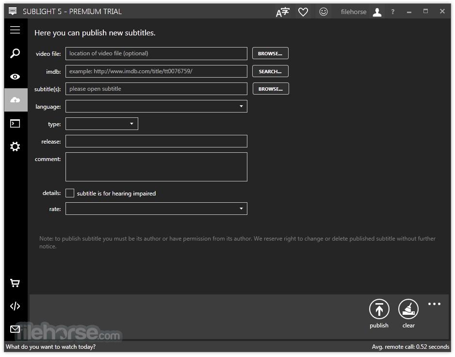 Sublight 5.4.1005 Screenshot 3