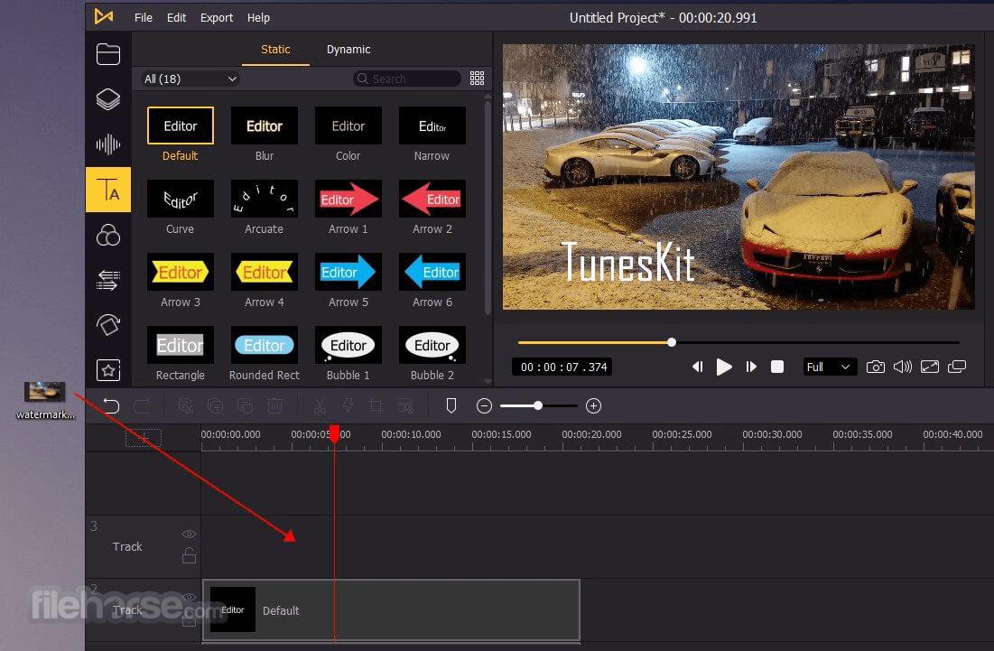 TunesKit AceMovi 4.1.0 Screenshot 2