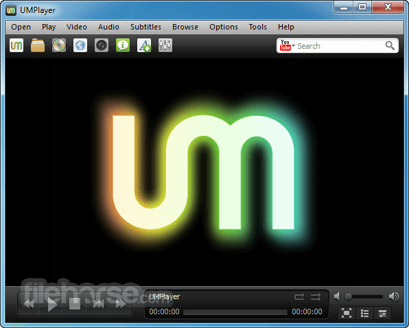 UMPlayer 0.98 Screenshot 1