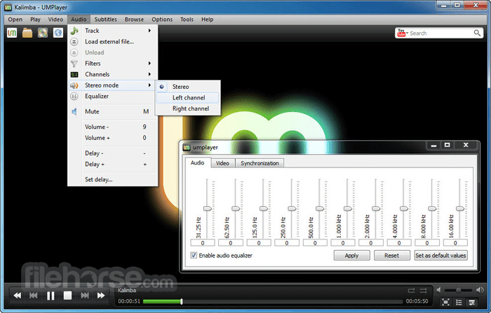 UMPlayer 0.98 Screenshot 4