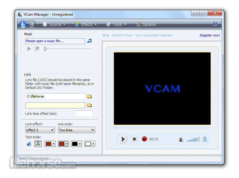 VCam 6.4 Screenshot 3