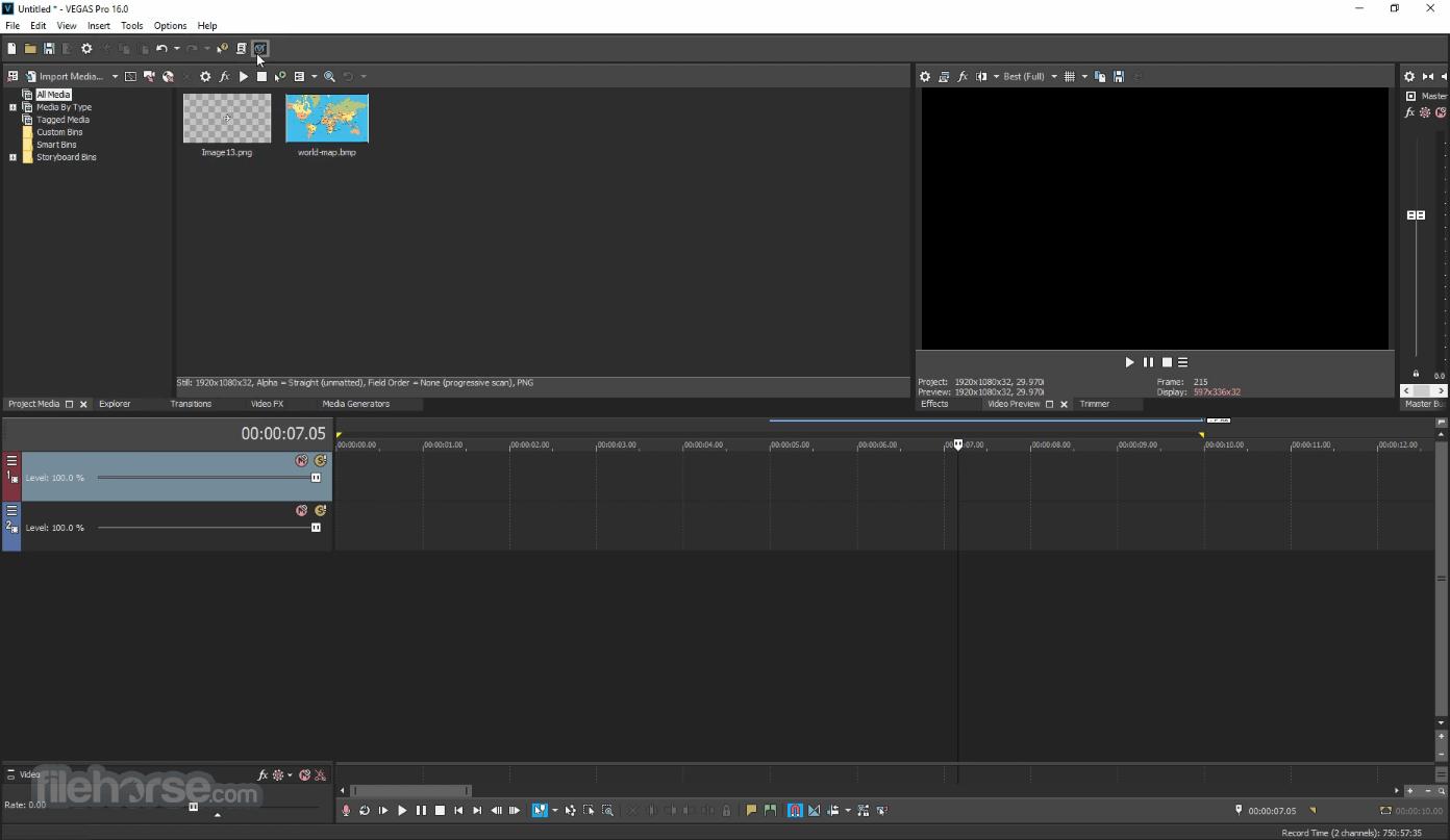 Vegasaur 3.9.5 Screenshot 1