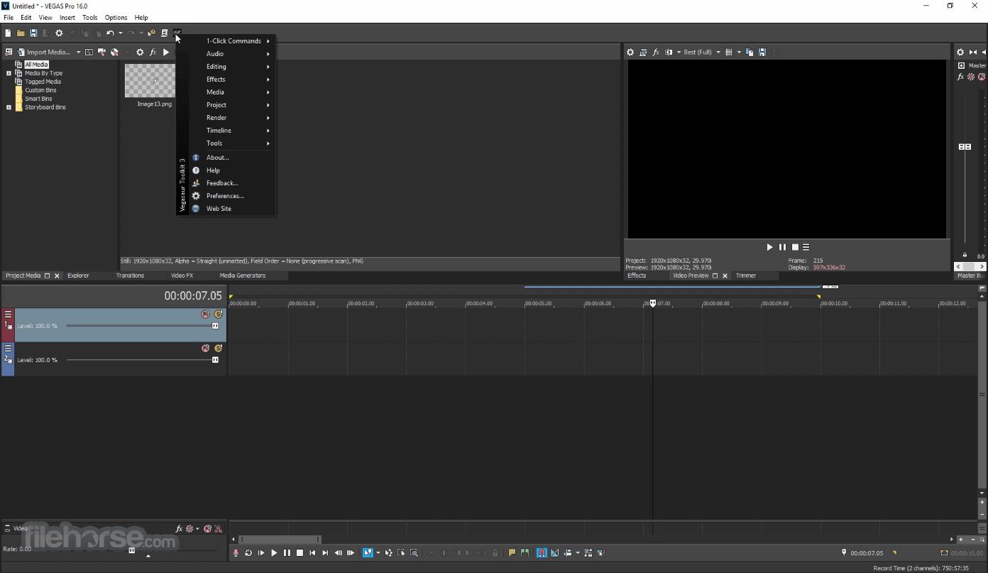 Vegasaur 3.9.5 Screenshot 2