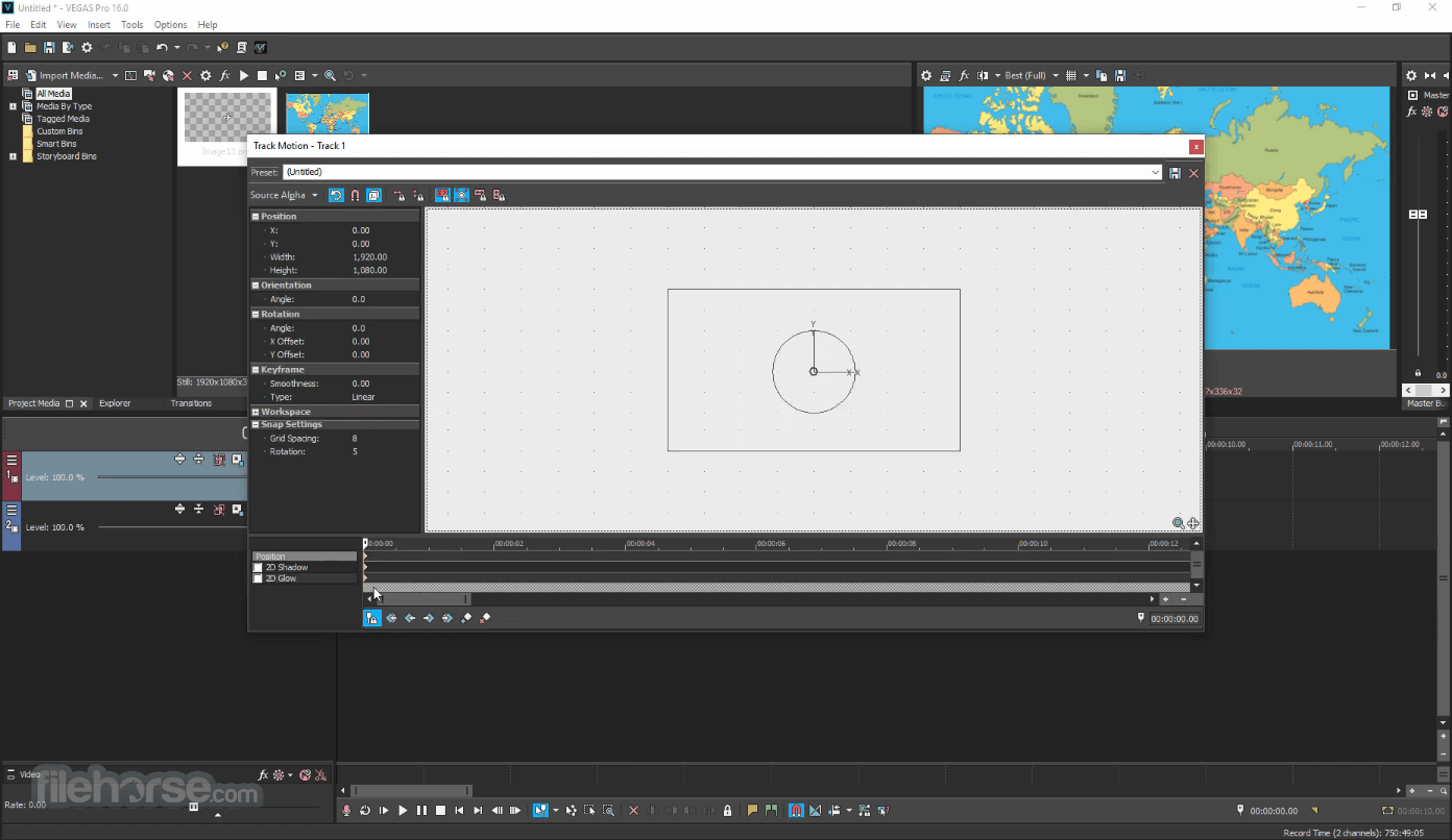 Vegasaur 3.9.5 Screenshot 4