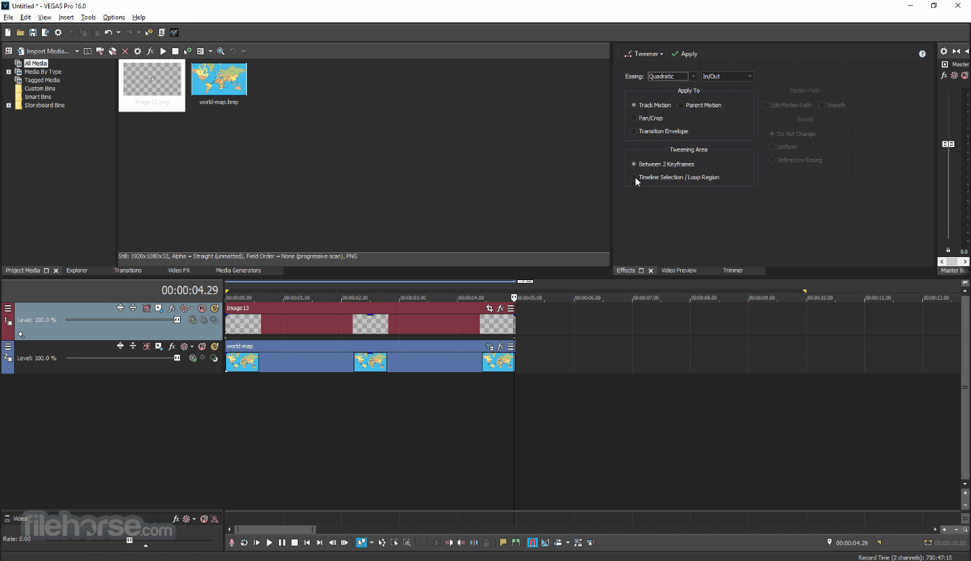 Vegasaur 3.9.5 Screenshot 5