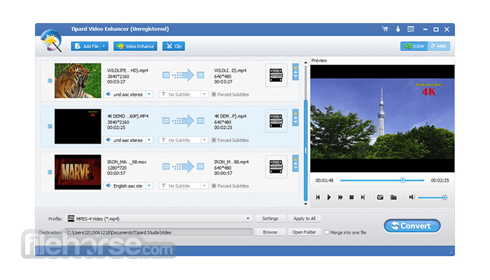 Tipard Video Enhancer 9.2.32 Captura de Pantalla 2