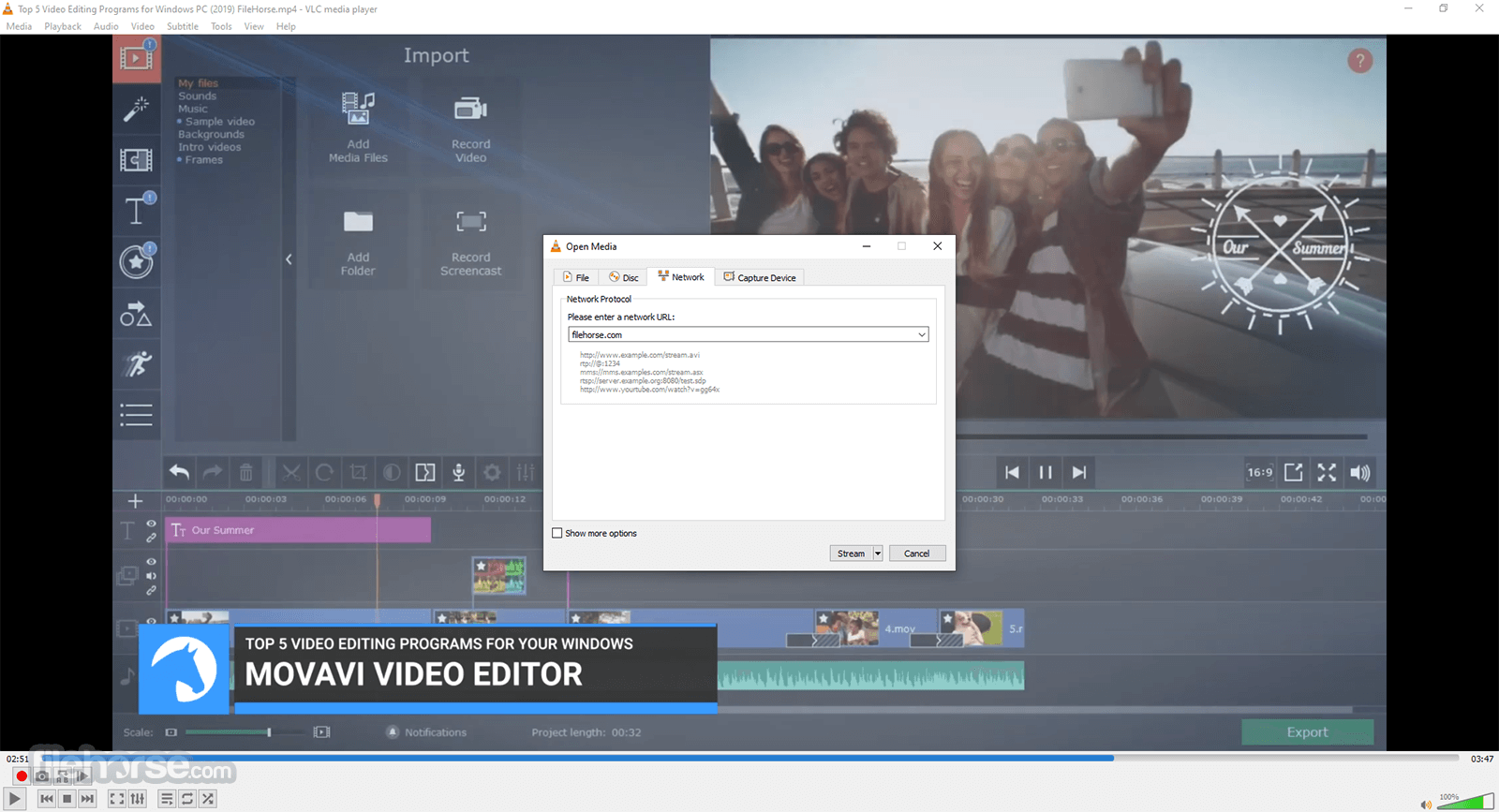 VLC Media Player 2.2.2 (32-bit) Screenshot 3