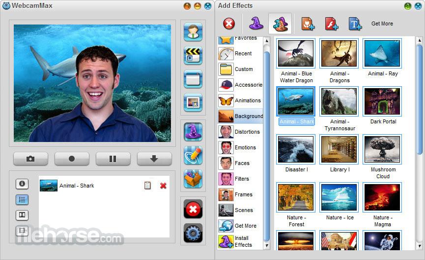 WebcamMax 8.0.7.6 Screenshot 3
