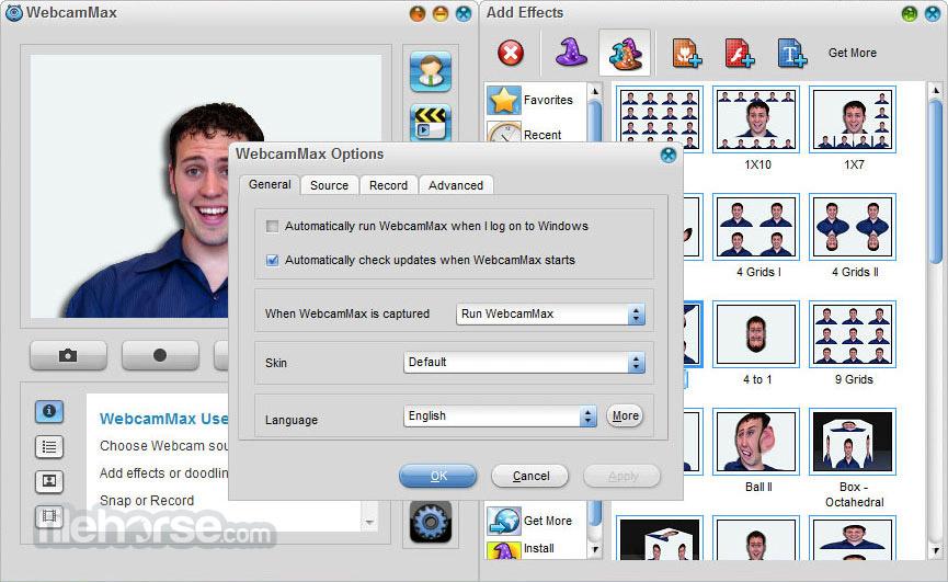 WebcamMax 8.0.7.8 Screenshot 5