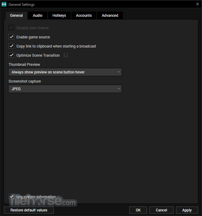 XSplit Broadcaster 3.3.1805.0302 Screenshot 5